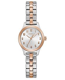 Women's Two-Tone Stainless Steel Bracelet Watch 24mm