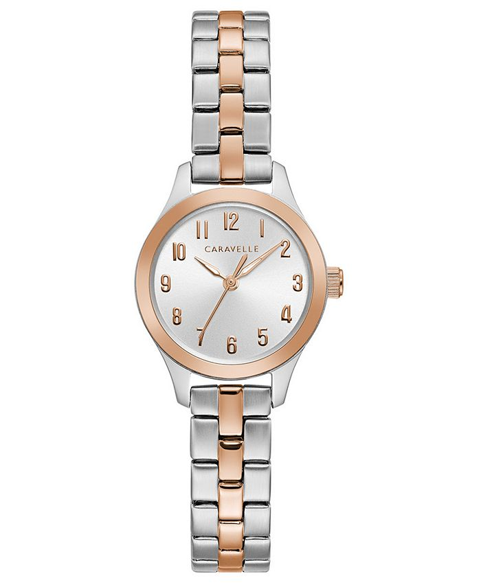 Caravelle - Women's Two-Tone Stainless Steel Bracelet Watch 24mm