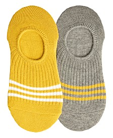 Lemon Women's 2-Pack Varsity-Stripe Liner, Online Only