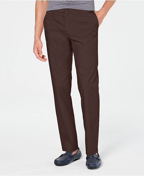 Alfani Men's AlfaTech Slim-Fit Chino Pants, Created for Macy's
