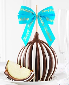 Mrs. Prindables Triple Chocolate Happy Birthday Caramel Apple