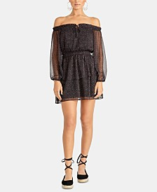 RACHEL Rachel Roy Sumi Off-The-Shoulder Dress