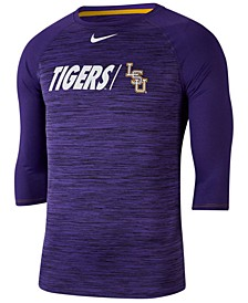 Men's LSU Tigers Legend Three-Quarter Sleeve Raglan T-Shirt