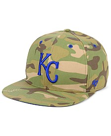 '47 Brand Kansas City Royals Blockade Strapback Cap
