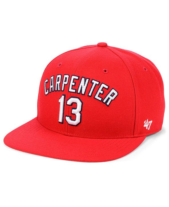 '47 Brand Matt Carpenter St. Louis Cardinals Player Snapback Cap