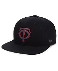 '47 Brand Minnesota Twins Iridescent Snapback Cap