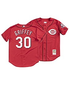 Men's Ken Griffey Cincinnati Reds Authentic Cooperstown Jersey