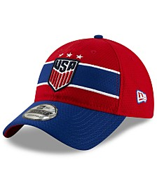New Era Women's USA National Team Pop Flash 9TWENTY Strapback Cap