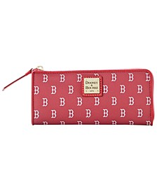 Boston Red Sox Zip Clutch
