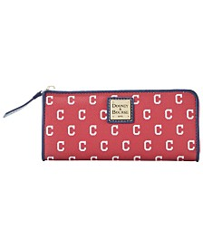 Dooney & Bourke Cleveland Indians Zip Clutch