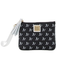 Dooney & Bourke Oakland Athletics Stadium Wristlet