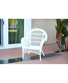 Jeco Santa Maria Wicker Chair - Set of 4