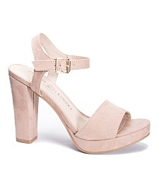 Chinese Laundry Aced Platform Wedge Sandals