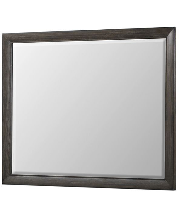 Furniture Morgan Beveled Mirror, Created for Macy's