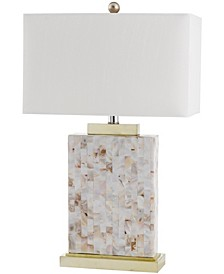 "Tory 24.5""H Shell Table Lamp"