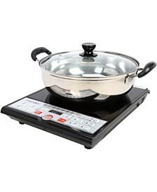 Tayama SM15-16A3 Induction Cooker with Shabu Pot