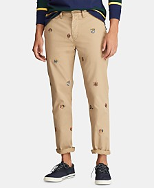 Polo Ralph Lauren Men's Bedford Chino Flat Pants