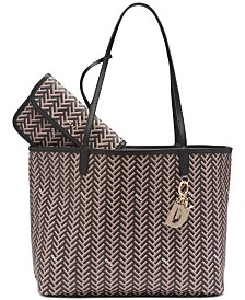 DKNY Gemma Reversible Tote, Created for Macy's