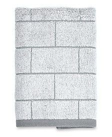 DKNY Subway Tile Hand Towel