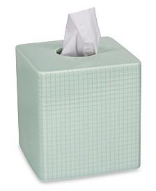 DKNY Fine Grid Tissue Box