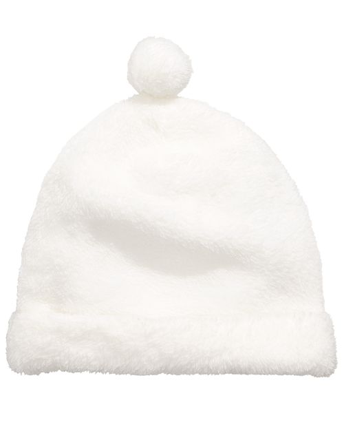 First Impressions Baby Boys & Girls Faux Sherpa Pom Pom Hat, Created for Macy's