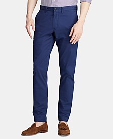 Men's Straight Fit Stretch Chino Pants