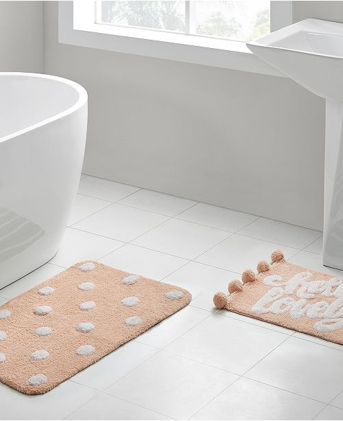Vcny Home Hello Lovely 2 Pc Bath Rug