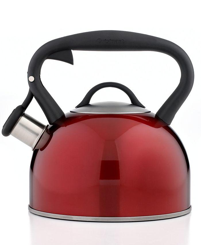 Cuisinart - Tea Kettle, Valor Red Metallic