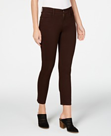Style & Co Petite Mid-Rise Skinny Jeans, Created for Macy's