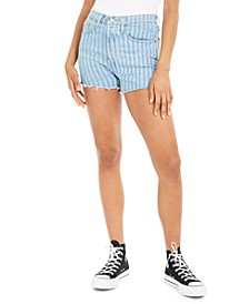 501 Striped Denim Shorts