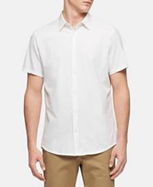 Calvin Klein Men's Cotton Button Down Shirt