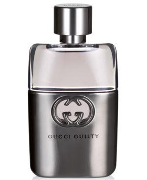 GUCCI Guilty Men'S Pour Homme Eau De Toilette Spray, 1.6 Oz, No Color