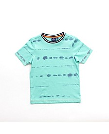 Toddler Boys Printed Short Sleeve Tee