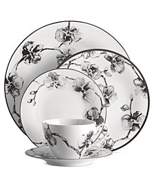 Michael Aram Dinnerware, Black Orchid Collection