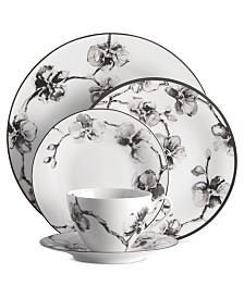 Michael Aram Dinnerware, Black Orchid 5 Piece Place Setting
