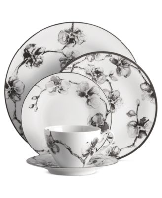 Michael Aram Dinnerware Black Orchid Collection  sc 1 st  Macy\u0027s & Michael Aram Dinnerware Black Orchid Collection - Fine China - Macy\u0027s