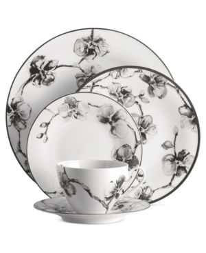 Michael Aram Dinnerware, Black Orchid 5 Piece Place Setting