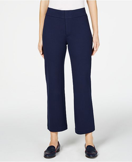 Charter Club Petite Wide-Leg Pants, Created for Macy's