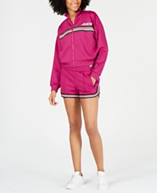 Juicy Couture Cropped Track Jacket