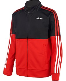 adidas Big Boys Colorblocked Tricot Jacket