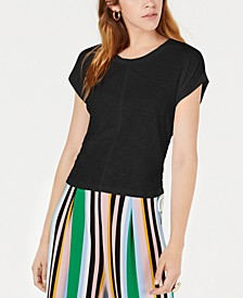 Side-Drawstring Cotton Top, Created for Macy's