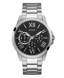 GUESS Men's Orbit Stainless Steel Bracelet Watch 46mm