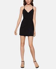 BCBGeneration Side-Tie Sheath Dress