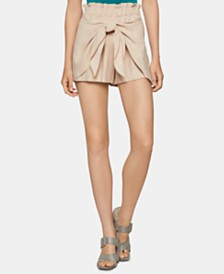 BCBGeneration Paperbag-Waist Shorts