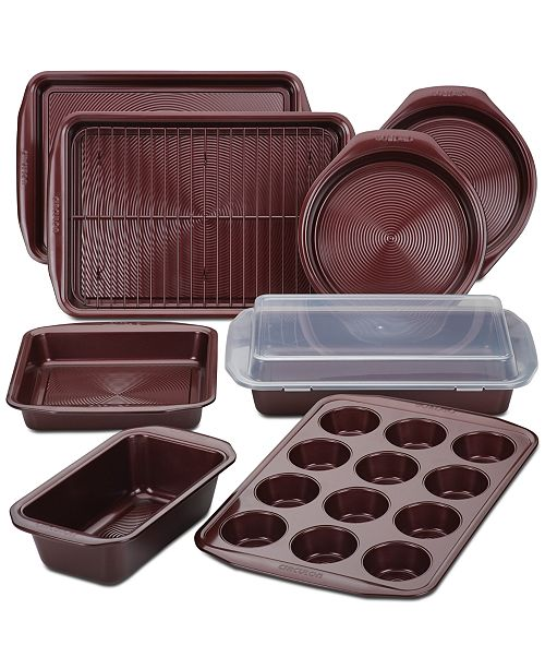 Circulon Nonstick 10-Pc. Set, Merlot