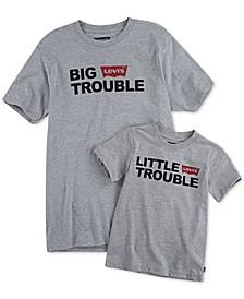 Men's Dad & Me Little Trouble T-Shirt Collection