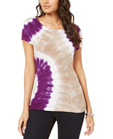 I.N.C. Tie-Dyed T-Shirt, Created for Macy's
