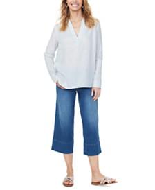NYDJ Linen High-Low Tunic