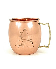 Handcrafted Moscow Mule Copper Mugs Set of 2