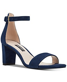 Pruce Block-Heel Sandals